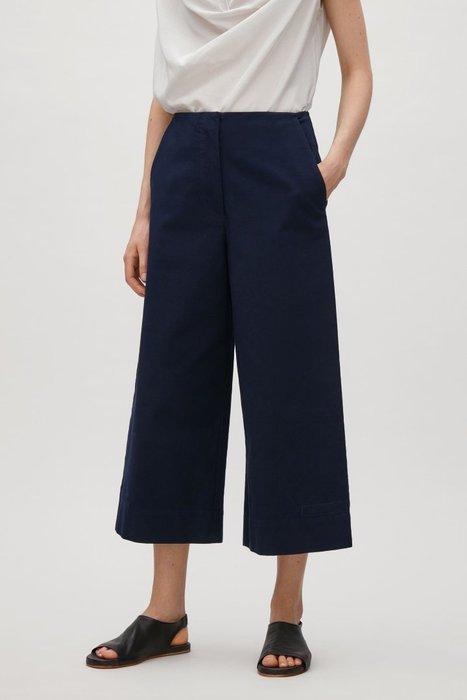 【現貨】 歐洲時尚 藍色寬褲