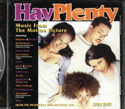 K - Hav Plenty Soundtrack 神魂顛倒四人情 日版 Shya Absoulute SWV 1998