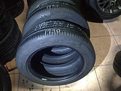 195 55 R 15 落地胎 17年製造 德國 馬牌 CC6 中古 二手 輪胎 一輪1300元