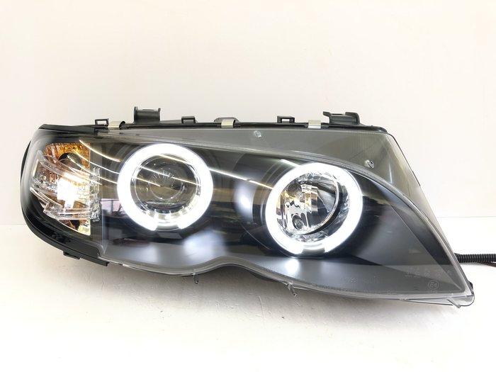 合豐源 車燈 E46 大燈 頭燈 LED 光圈 天使眼 魚眼 01 02 03 04 05 4D 4門 小改款 320