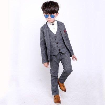 【衣Qbaby】男童禮服韓版秋冬西服花...