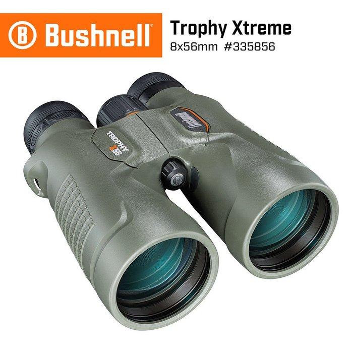 【美國 Bushnell】Trophy Xtreme 極限錦標 8x56mm 超大口徑防水高倍雙筒望遠鏡 335856