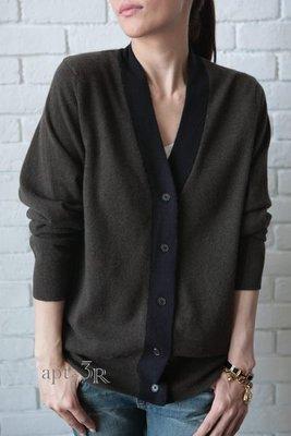轉賣 apt. 3R ~Demylee Cashmere Rick 雙色開襟外套