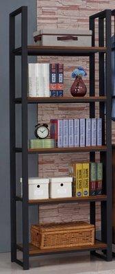 loft美式鄉村風格復古鐵藝書架鐵木置物架隔板展示貨架書架