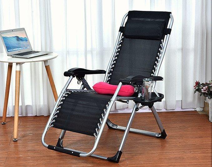豪華加寬午休折疊椅