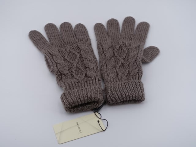 MARYLING  羊毛針織手套