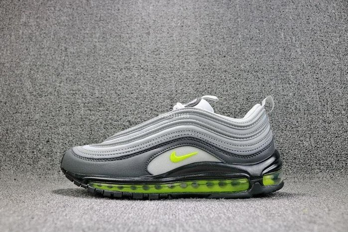 Nike Air Max 97 OG QS 灰綠 經典 氣墊 子彈 慢跑鞋  男鞋 921733-003