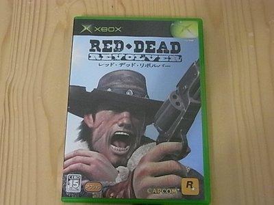【小蕙館】XBOX~ Red Dead Revolver 紅色死亡左輪 (純日版)