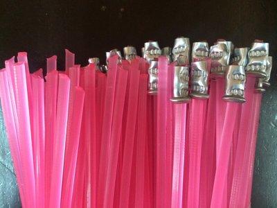 ㊣成發機械五金批發㊣割草機 除草機 專用 割草繩 牛筋繩 牛筋條 (粉色)加強版 超耐磨 每包100條 線徑:3.2mm