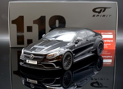 【M.A.S.H】現貨特價 GT Spirit 1/18 Mercedes S-Class Coupe Prior