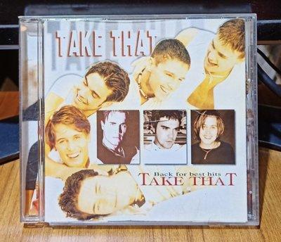 【黑膠情報】TAKE THAT接招合唱團 - back for best hits專輯(西洋CD)