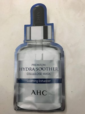 保固2022.02 韓國AHC安瓶精華天絲纖維面膜《玻尿酸保濕》27ml