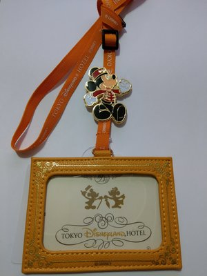 ***日本帶回***東京迪士尼樂園飯店Disneyland Hotel PORTER識別證 捷運卡背帶 ♪☆♪