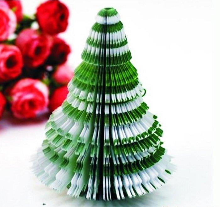 ❤❤心生活創意禮品館❤❤韓系 可愛 創意 聖誕樹 便條紙 聖誕卡片 裝飾品 聖誕禮物 交換禮物
