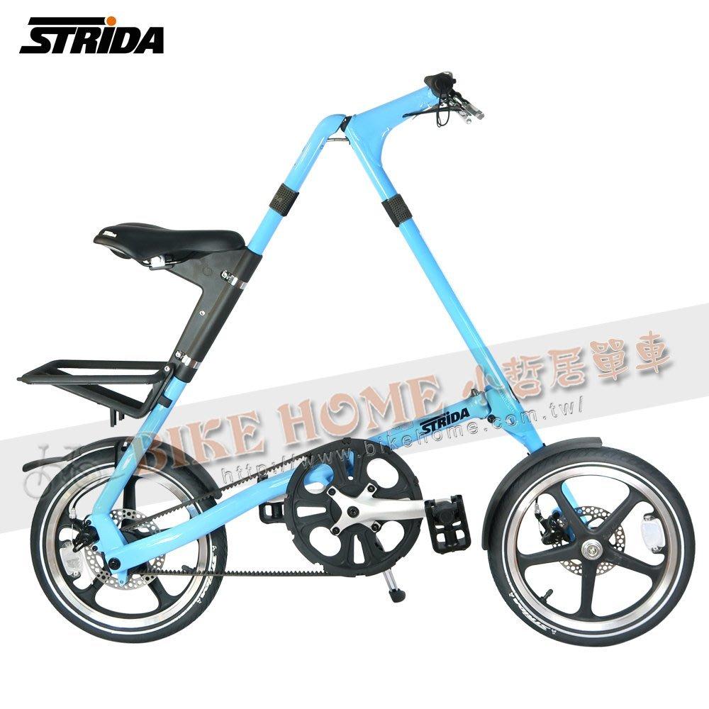 小哲居 STRIDA速立達 LT 全車架EN管材 16吋輪 外銷版 三角形單車 薄荷藍 6大升級 歡迎使用國旅卡只有一台