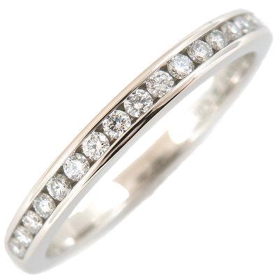 [超優惠 國際圍#11]Tiffany Diamond 鑽石 半環 線戒 婚戒