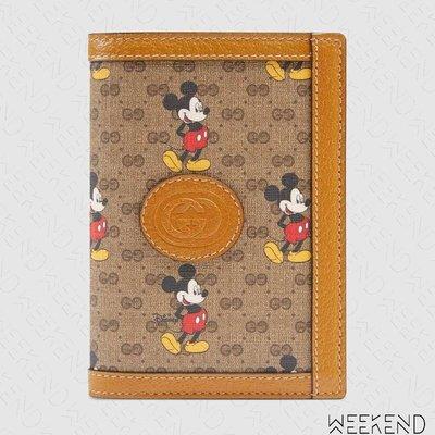 【WEEKEND】 GUCCI x DISNEY 迪士尼 聯名 米奇 Passport 證件夾 護照夾 602538