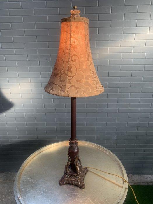 精緻雕刻藝術檯燈一對 檯燈 立燈 小夜燈 A2022-予新傢俱