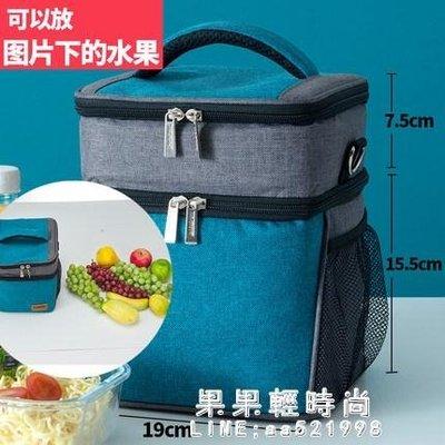 保冷袋 便當手提包飯盒保溫袋雙肩包韓版防水帶飯保冷保鮮冰包飯盒包鋁箔