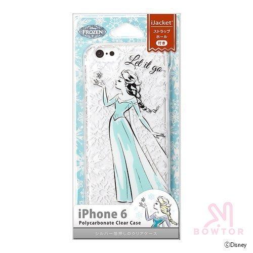 光華商場*包你個頭日本 正版  iphone6 4.7 冰雪奇緣 透明  軟殼 保護殼 背蓋897