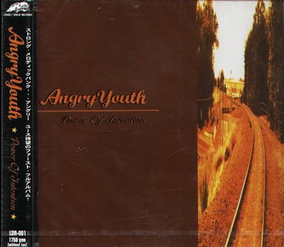 K - Angry Youth - Power Of Intention - 日版 - NEW