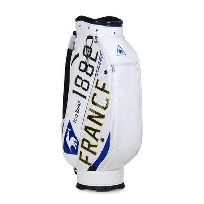 萌時尚小鋪 高爾夫球包新款高爾夫球袋標準球桿包防水PU男女通用下場球包耐用
