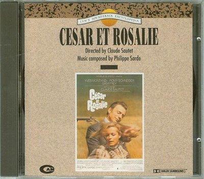 """[原聲帶]-""""凱撒與羅莎麗(Cesar et Rosalie)""""- Philippe Sarde(16),義大利版"""
