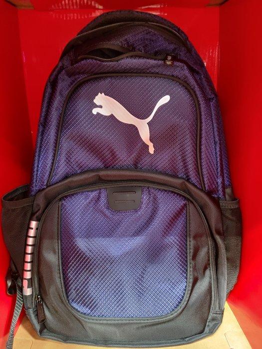全新 PUMA 運動休閒後背包,2顏色(灰、藍)有2個