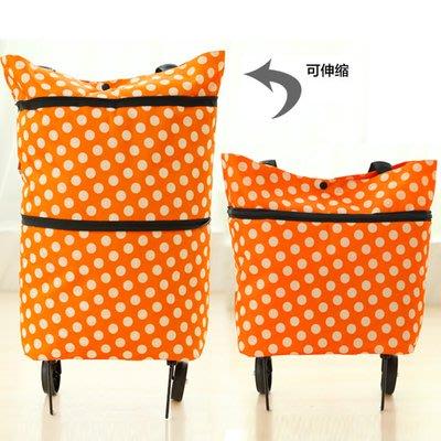 家用購物手拉車 便攜折疊 購物袋/收納包 qazx4XSJD10610