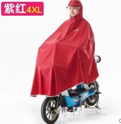 電動摩托車雨衣電瓶車雨衣單人加大厚雨衣男成人電動車 zm6411TW