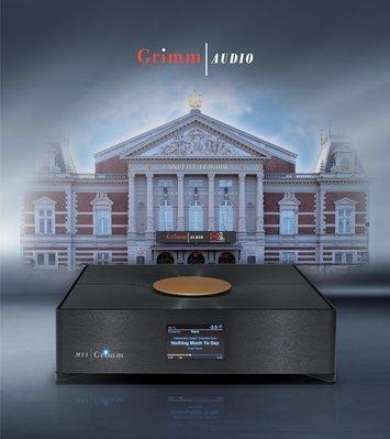 GrimmAudio MU1 DSP Streamer串流播放器(4TB SSD) 歡迎來電洽詢/預約試聽