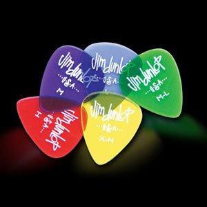 ☆ 唐尼樂器︵☆ DUNLOP 木吉他/民謠吉他/電吉他/電貝斯 Bass 用 PICK /透明彈片標準款
