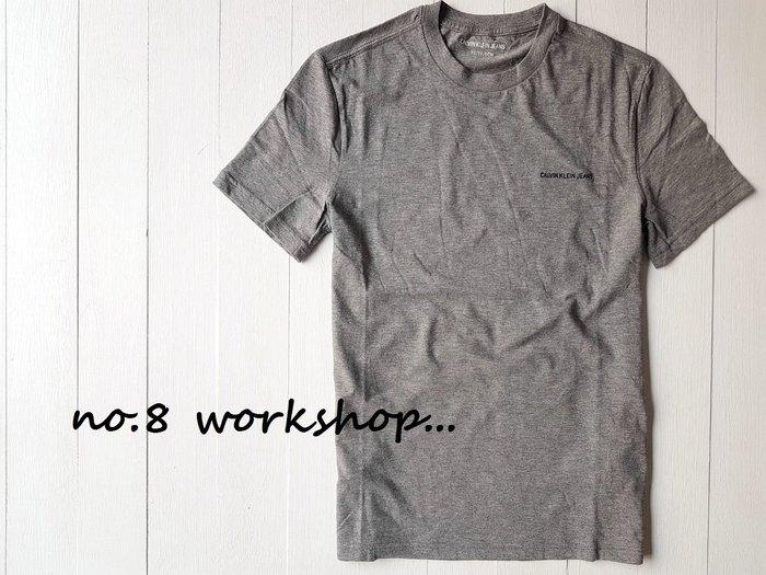 T☆【CK男生館】☆【Calvin Klein LOGO刺繡短袖T恤/素T】☆【CK001D1】(XS-S-M-L-XL-XXL)原價1499 9/17到貨