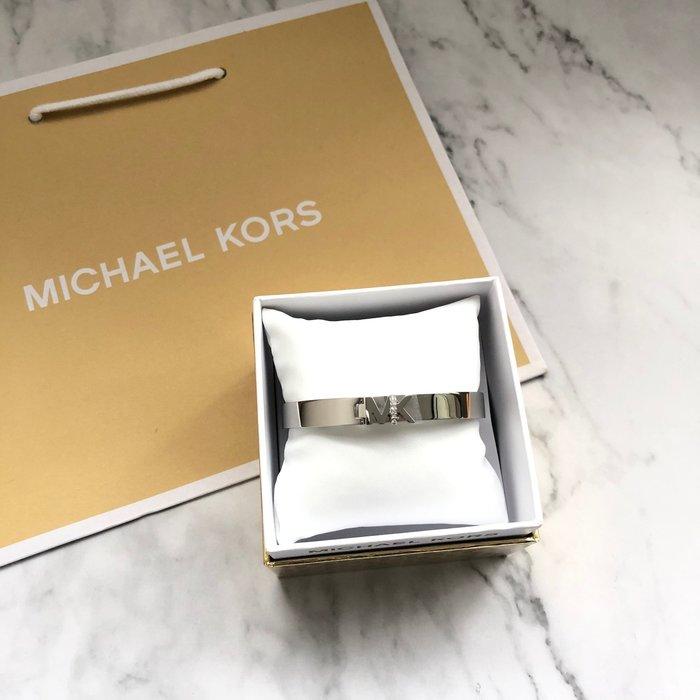 美國百分百【全新真品】 Michael Kors 手環 LOGO 水鑽 簡約設計 配件 手環 情人節 保證正品 AQ20