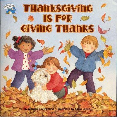 *小貝比的家*THANKSGIVING IS FOR GIVING THANKS/平裝/3~6歲/感恩節