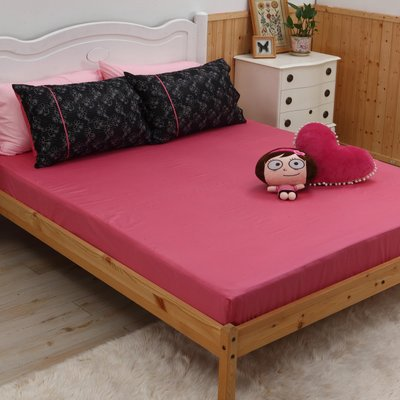 《40支紗》-麗塔寢飾- 精梳棉【Do Re Mi】雙人特大床包枕套三件組