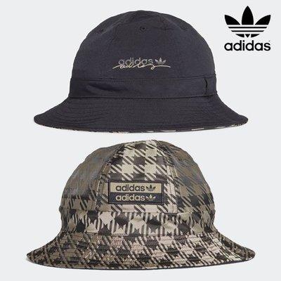 【吉米.tw】現貨 漁夫帽 雙面 Adidas Originals R.Y.V. 愛迪達 帽子 千鳥格 OCT a
