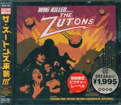 K - The Zutons - Who Killed the Zutons ? - 日版 +3BONUS - NEW