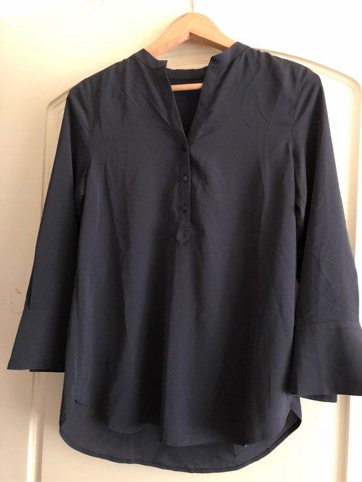 特價23區藍灰色無領上衣38