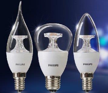 E14 飛利浦LED燈泡3.5W10個1750元免運