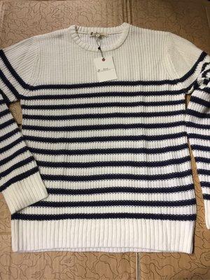 [變身館日本服飾]~BENO~針織衫~毛衣~上衣~條紋~日本購入~全新現品~出清價~M