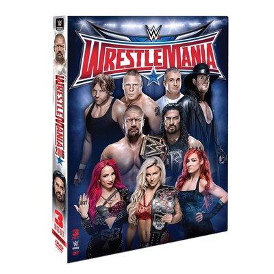☆阿Su倉庫☆WWE摔角 WrestleMania 32 DVD WM32摔角狂熱精選專輯 熱賣特價中