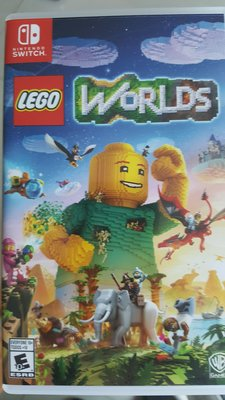 Nintendo Switch Game Lego Worlds 樂高世界 (美版)