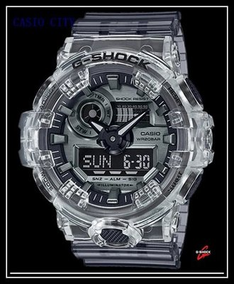 [CASIO CITY]CASIO G-SHOCK早春半透明系列GA-700SK-1A~ga-2100-1a1