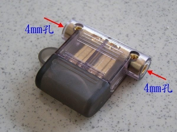 ☆精巧汽音☆改裝用…全銅鍍金插式保險絲座…保護電路