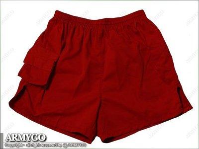 【ARMYGO】國軍紅短褲