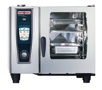 RATIONAL 營業用  萬能蒸烤箱 SCC WE 61 德國製 適用餐廳、咖啡簡餐、飯店、外燴、團膳便當、中央廚房