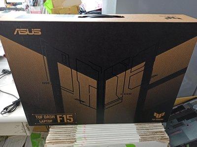 +16G記憶體44M算力ASUS華碩TUF DASH F15 FX516PR 15.6吋黑色電競筆電/RTX3070/左營自取