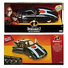 超人特攻隊 Incredibles 2 1/24 合金 metal DIE-CAST 車