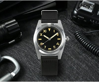 San Martin Mil Watch 加州面復古 軍錶 機械錶